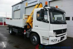 Ciężarówka wywrotka trójstronny wyładunek używana Mercedes 1522 3 S.-Kipper Atlas Kran 7.30m=1,14t.1.Hand