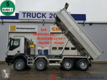 Camión volquete usado Iveco 340T45 Trakker 8x4 Bordmatik Links/Rechts/Hinten
