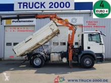 Camião MAN TGM 18.330 Meiller Atlas 105.2 5.+ 6.Steuerkreis estrado / caixa aberta usado