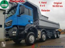 MAN TGS 41.480 8x6 Schalter Blatt 1Hd original 57TKM truck used tipper