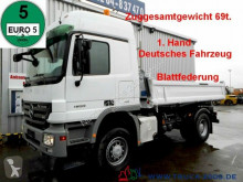 Mercedes 1855 4x4 V8 3S. 69t.ZugGesamt Blatt leaf springs truck used three-way side tipper