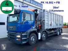 camion MAN TGA 35.430 Wertstoff Glas Metall Recycling