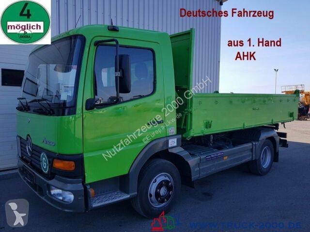 Voir les photos Camion Mercedes 818 Atego Meiller 3 S. 1.Hand AHK Deutscher LKW