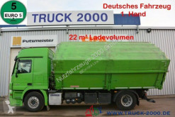 Mercedes Actros 1848 22m³ Alu Kempf Getreide Retarder 1.H truck used three-way side tipper