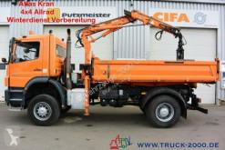 Camión volquete Mercedes Axor 1829 4x4 Atlas Kran + Winterdienst 1.Hand