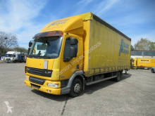 vrachtwagen DAF FA LF45 220, Gardine, LBW, Edscha, Klima