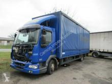 DAF tarp truck 45LF220 Gardine mit Bordwand + LBW, Motorschaden