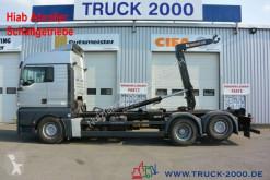 Camion multibenne MAN TGA 26.440 Hiab XR21S61 21 to.Schaltgetriebe AHK