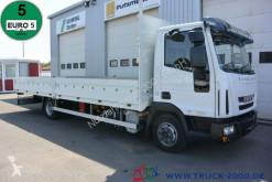 Camión caja abierta teleros usado Iveco ML 75E18/P EuroCargo 7.10 Pritsche 3-Sitze Klima