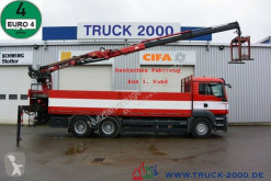 Camión MAN TGS 26.400 6x4 Atlas Terex TLC 165.2 11 m=1.5 to caja abierta usado