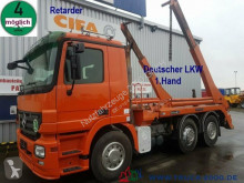 Vrachtwagen Mercedes 2546 Hüffermann Tele Deutscher LKW 1.Hd Retarder tweedehands kipper