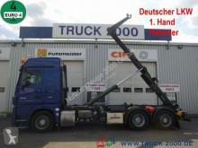 Camion Mercedes 2546 Actros Meiller Deutscher LKW Retarder 1.Hd. multibenna usato
