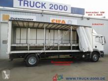 MAN tarp truck TGM 18.240 Edscha L+R Mitnahmestapler 1.Hand