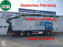 Camion Scania R400 Tirre Euro 191L 9m=1,7t. 7m Ladefl. 1.Hand plateau ridelles occasion