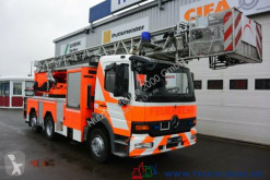 Camion nacelle Mercedes 1628 Feuerwehr Leiter 30 m R.-Korb Steigleitung