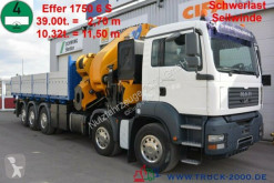 Camion platformă MAN TGA 41.480 Effer 1750 6S 175T/M Winde 8T 60mSeil