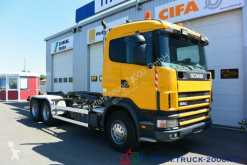Camion multibenne Scania 124G470 6x4 Multilift Knick- Schub Haken 25 to.
