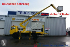 Camion Mercedes 1013 Ruthmann 17 m seitl. Auslage 13 m isoliert nacelle occasion