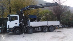 Used dropside truck Scania C 124C420