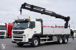 ciężarówka Hiab VOLVO - FM / 450 / SKRZYNIOWY + HDS / 6 X 4 / 211 E-6
