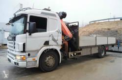 vrachtwagen Fassi Scania 94 D crane truck Palfinger PK21000 hiab