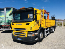 Ciężarówka Scania P230 R230 orginalne 174 tys km + cran TEREX TLC 85.2 platforma używana