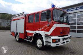 Camion MAN 14.224 4x4 Euro2 Feuerwehr 1200 Liter Wassertank pompiers occasion