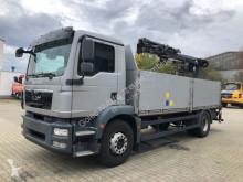 Camion plateau MAN TGM 18.340 Pritsche Kran ATLAS 105.2 *Hochsitz