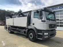 Camion MAN TGM 18.340 Pritsche Kran ATLAS 105.2 *Hochsitz plateau ridelles occasion