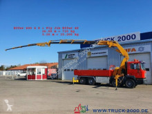 Camion plateau occasion MAN 32.414 8x4 Effer 600 4S + JIB 60T/M bis 30m Höhe