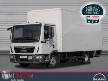 Camion fourgon occasion MAN TGL 8.190 4X2 BL Koffer 6m, Ladebordwand, LaneGuar