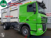 Camion châssis DAF XF105.460 Deutscher LKW 1. Hand ADR/ GGVS AHK50t
