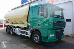 Camion citerne alimentaire DAF XF105.410 Feldbinder Silo Staub & Riesel 32 m³