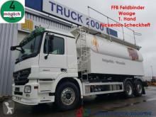 vrachtwagen Mercedes 2541 30m³FFB Silo Pellets + Staub Rieselg. Waage