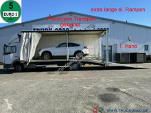 Mercedes car carrier truck 922 Atego Geschlossener Transport + el. Rampen