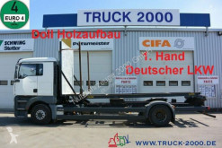 Camião transporte de madeira MAN TGA 18.350 LL Kurzholz Holz Aufbau 1.Hand Klima