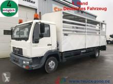 Camião MAN 10.185 Hinterkipper Kleider Wertstoff Recycling basculante usado