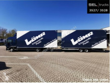 Ciężarówka z przyczepą furgon używana MAN TGL TGL 8.220 4x2 BL / JUMBO / NAVI / Alu-Felgen