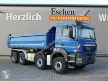 Camión MAN TGS 35.440 BB, 8x4, Bordmatik, Klima, Blatt volquete volquete trilateral usado
