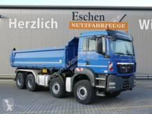 Camion benne MAN TGS 35.440 BB, 8x4, Bordmatik, Klima, Blatt