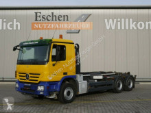 camion Mercedes 2646 L, 6x4, Ellermann Haken, Klima, Bl/Lu