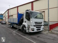 Camion Iveco Stralis 310 plateau ridelles occasion