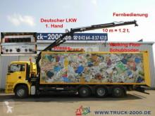 MAN TGA TGA 32.390 Schubboden 57m³Wertstoff Müll Presse vůz na domovní odpad použitý