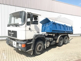 MAN 24.292 DFK 6x4 BB 24.292/26.372 DFK 6x4 BB, 6-Zylinder Motor, 99.000KM! truck used three-way side tipper