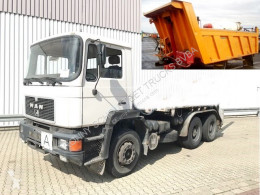 Used three-way side tipper truck MAN 24.292 DFK 6x4 BB 24.292/26.372 DFK 6x4 BB, 6-Zylinder Motor, ca.11m³, NUR 99.000KM!