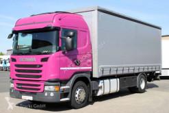 Camion savoyarde Scania G 320 Liee Retarder ACC LDW Schiebeplane LBW 2t