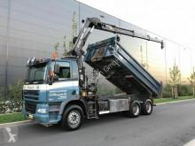 ciężarówka DAF 85.380 Kipper+Kran Hiab 144E-3 Hipro Mit Remote
