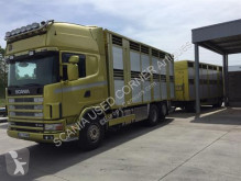 Scania truck used livestock trailer