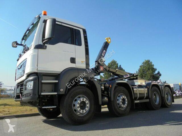 Voir les photos Camion MAN TGS 41.430 8x4 / Hyva Lift Typ: Titan