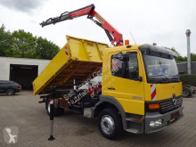 Camion tri-benne occasion Mercedes Atego 1218 Kipper mit PK9501 2x hydr. 5.+6. Bed.